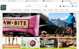 goodfood-shop.de Webseiten Screenshot