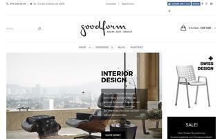 Goodform Webseiten Screenshot