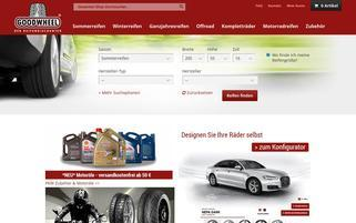 Goodwheel Webseiten Screenshot