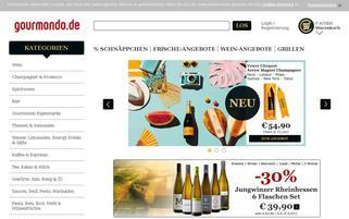 Gourmondo Webseiten Screenshot