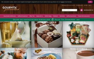 Gourvita Webseiten Screenshot