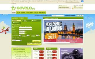 Govolo Webseiten Screenshot
