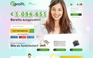 GProfit Webseiten Screenshot