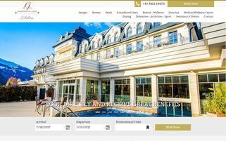 Grandhotel Lienz Webseiten Screenshot