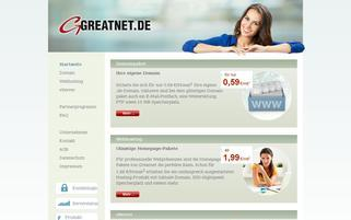 greatnet.de Webseiten Screenshot