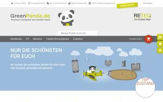 Green Panda Webseiten Screenshot