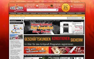 Grillfürst Webseiten Screenshot