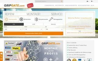 Gripgate Webseiten Screenshot