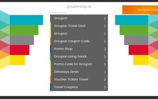 GrouponShop Webseiten Screenshot