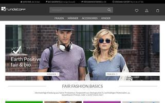Grundstoff Webseiten Screenshot