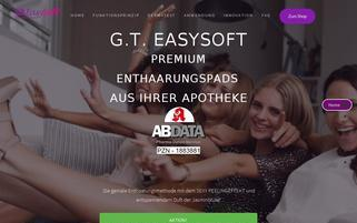 GT EasySoft Webseiten Screenshot