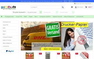 gubidu.de Webseiten Screenshot