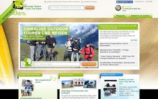 Guiders Webseiten Screenshot