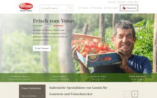 Gustini Webseiten Screenshot