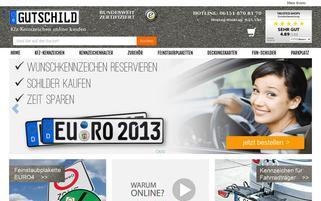 Gutschild Webseiten Screenshot