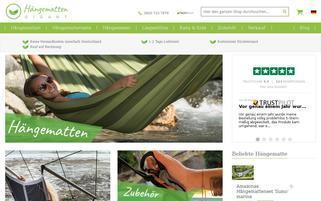 Hängematten Gigant Webseiten Screenshot