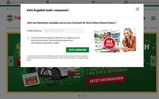 hagebau.de Webseiten Screenshot
