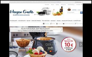 Hagen Grote Webseiten Screenshot
