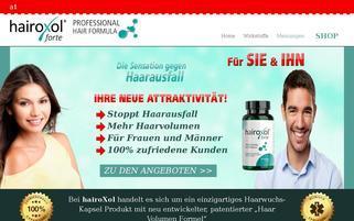 hairoxol.com Webseiten Screenshot