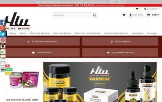 halal-wear.com Webseiten Screenshot