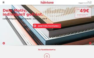 halvtone.com Webseiten Screenshot