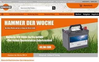 Hammerkauf Webseiten Screenshot