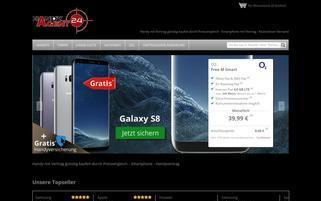 handyagent24.de Webseiten Screenshot