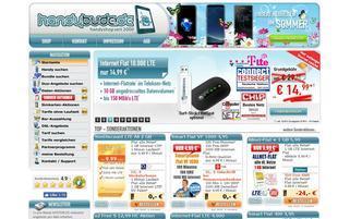Handybude Webseiten Screenshot