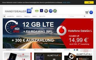 Handydealer24 Webseiten Screenshot
