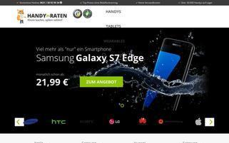 HandyInRaten.de Webseiten Screenshot