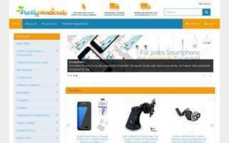 Handyparadies Webseiten Screenshot