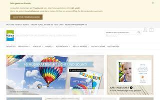 Hanra Webseiten Screenshot
