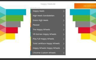 happy-heels.de Webseiten Screenshot