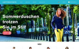 Happy Rainy Days Webseiten Screenshot