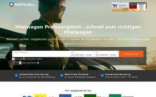 Happycar Webseiten Screenshot
