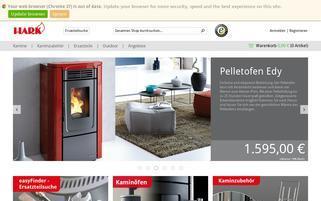 Hark Webseiten Screenshot