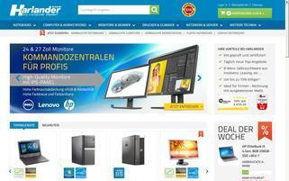 Harlander Webseiten Screenshot