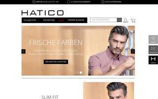 Hatico Webseiten Screenshot