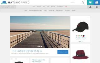 hatshopping.com Webseiten Screenshot