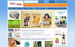 Haus und Hobby Webseiten Screenshot