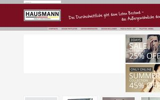 Hausmann Germany Webseiten Screenshot