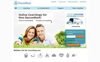 Hausmed Webseiten Screenshot