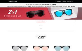 Hawkers Webseiten Screenshot