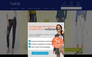 heine Webseiten Screenshot