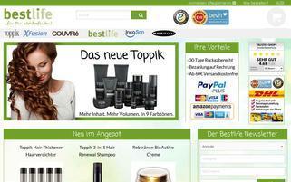 Heiner Versand Webseiten Screenshot