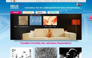 Helix Kids Webseiten Screenshot