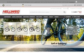 Hellweg Webseiten Screenshot