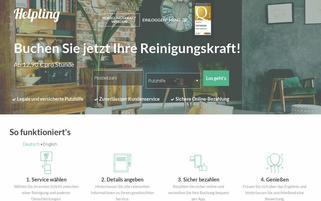 Helpling Webseiten Screenshot