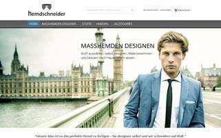 Hemdschneider Webseiten Screenshot