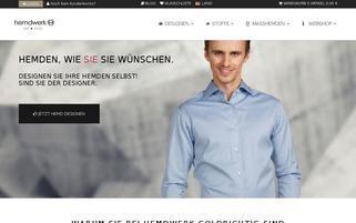 Hemdwerk Webseiten Screenshot